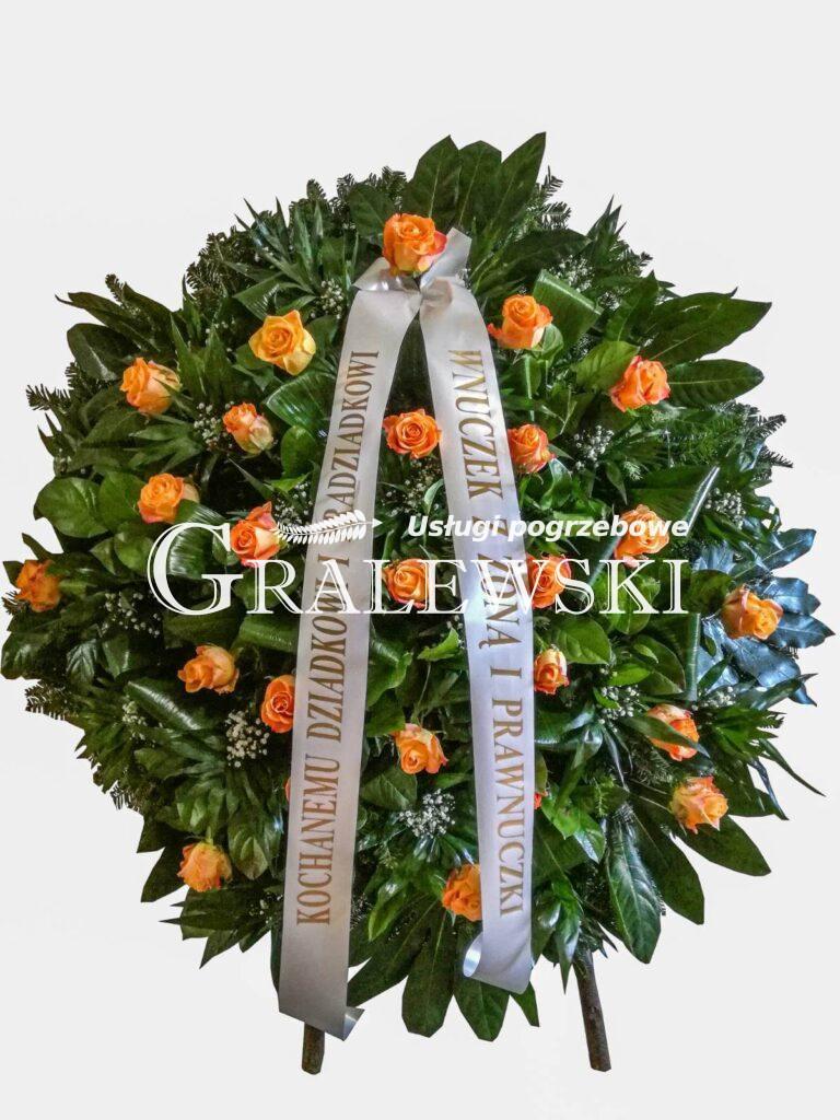 12. Wieniec mały róża 390,00 PLN