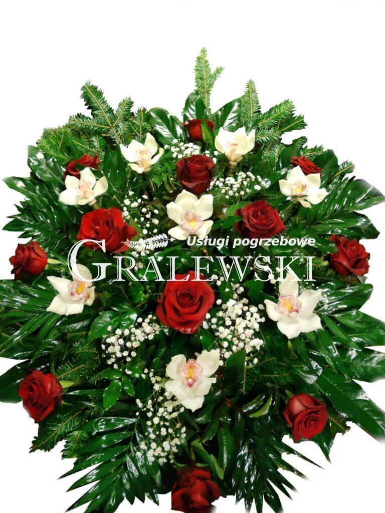 13. Wiązanka róża + storczyk 250,00 PLN