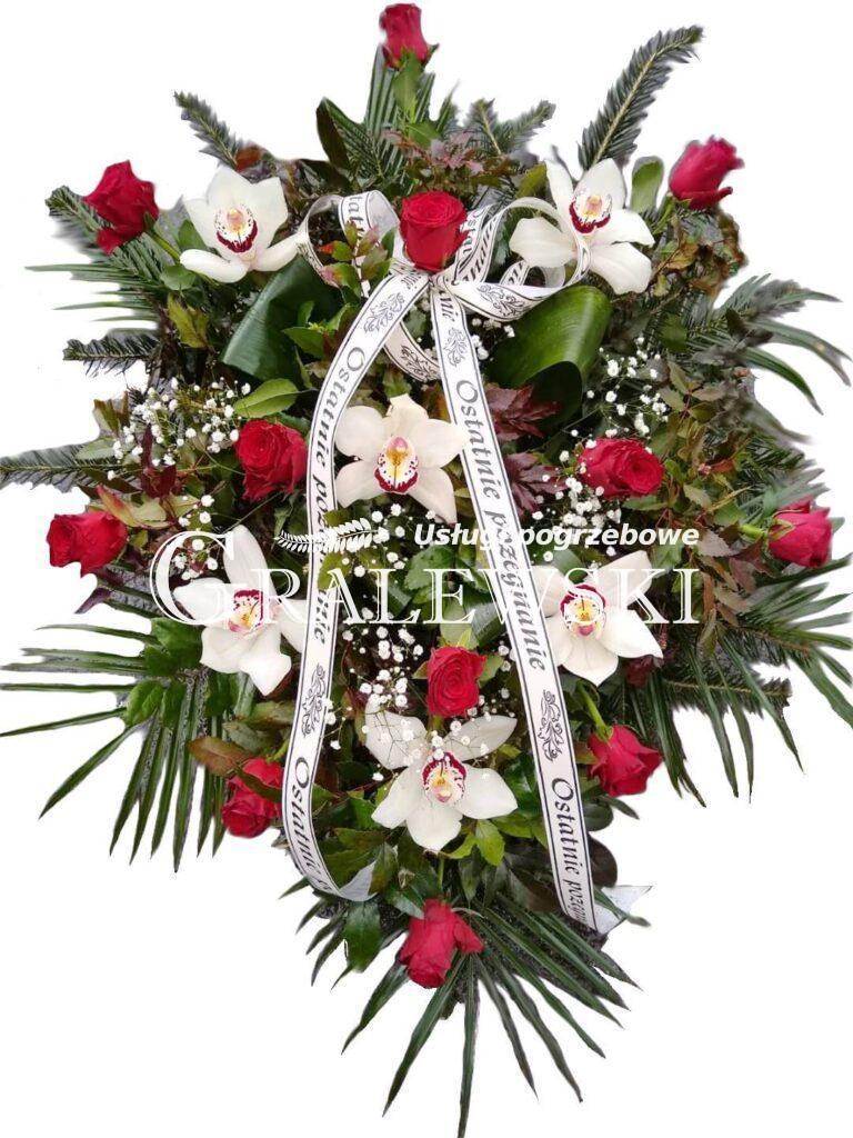 15. Wiązanka róża + storczyk 250,00 PLN