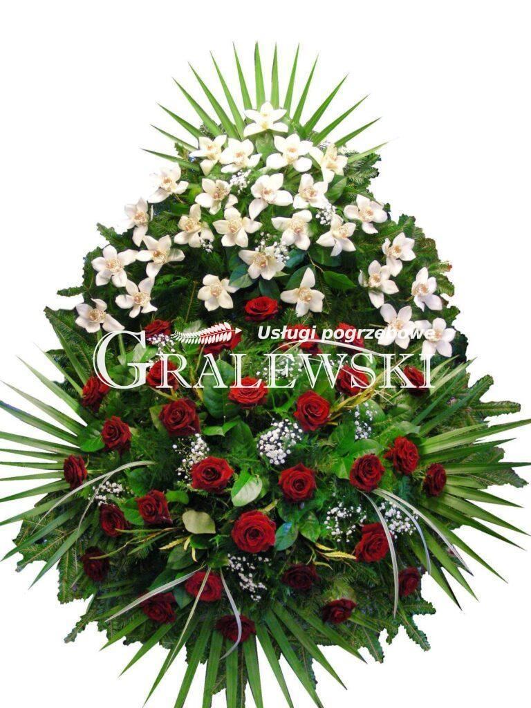 15. Wieniec Łezka storczyk+róża 550,00 PLN