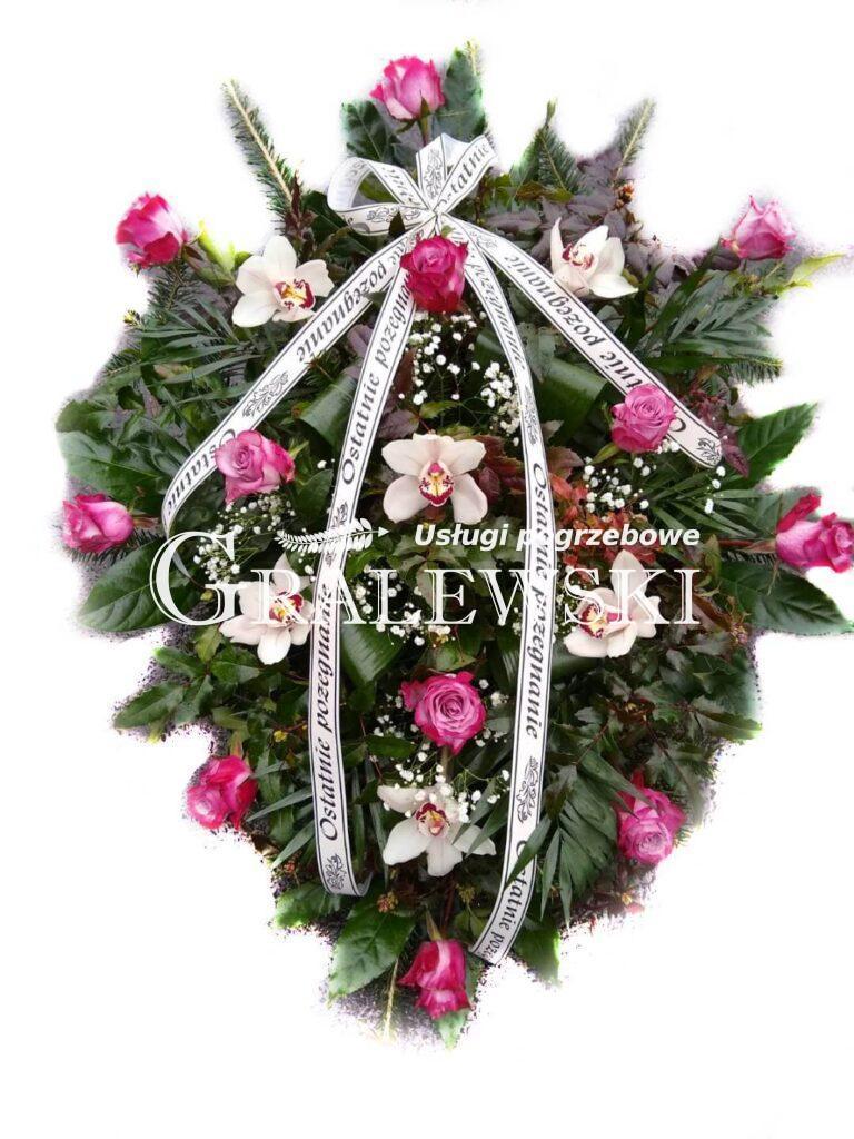 16. Wiązanka róża + storczyk 200,00 PLN