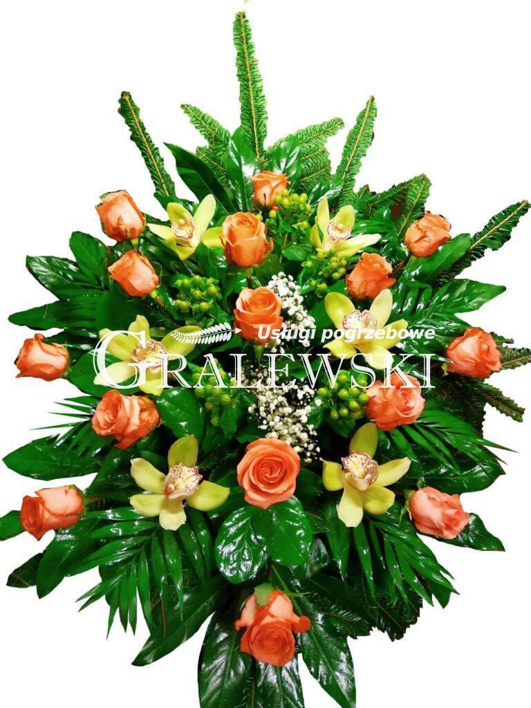 24. Wiązanka róża + storczyk 250,00 PLN