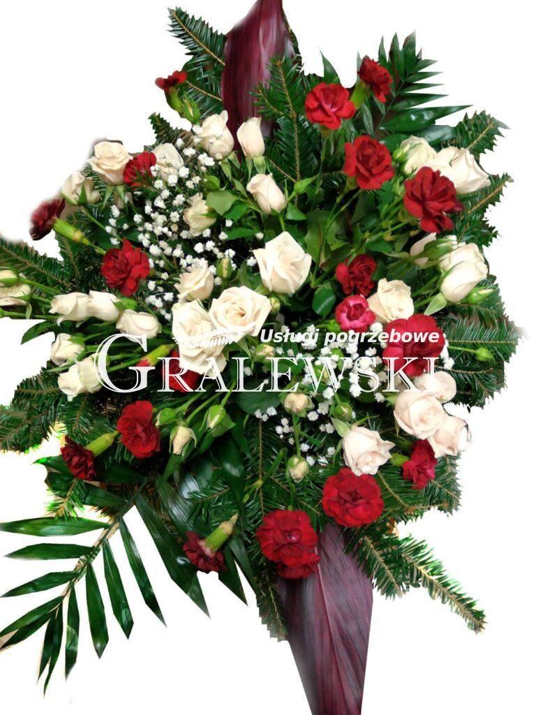 3. Wiązanka róża+goździk 250,00 PLN