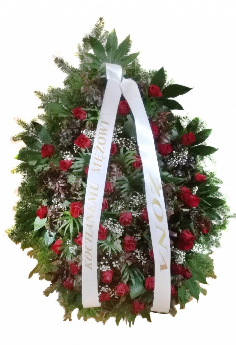 3. Wieniec Łezka róża 550,00 PLN