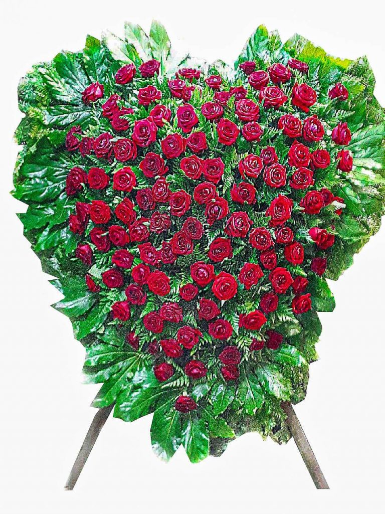 3. Wieniec Serce róża 1 050,00 PLN