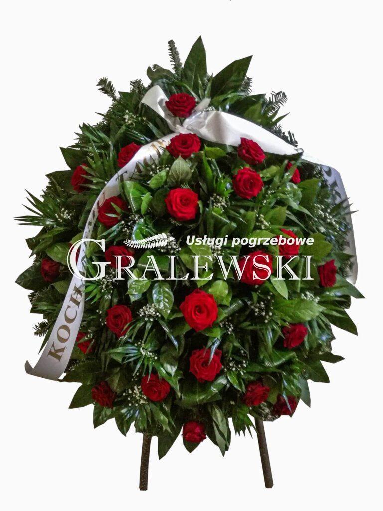 4. Wieniec mały róża 350 zł