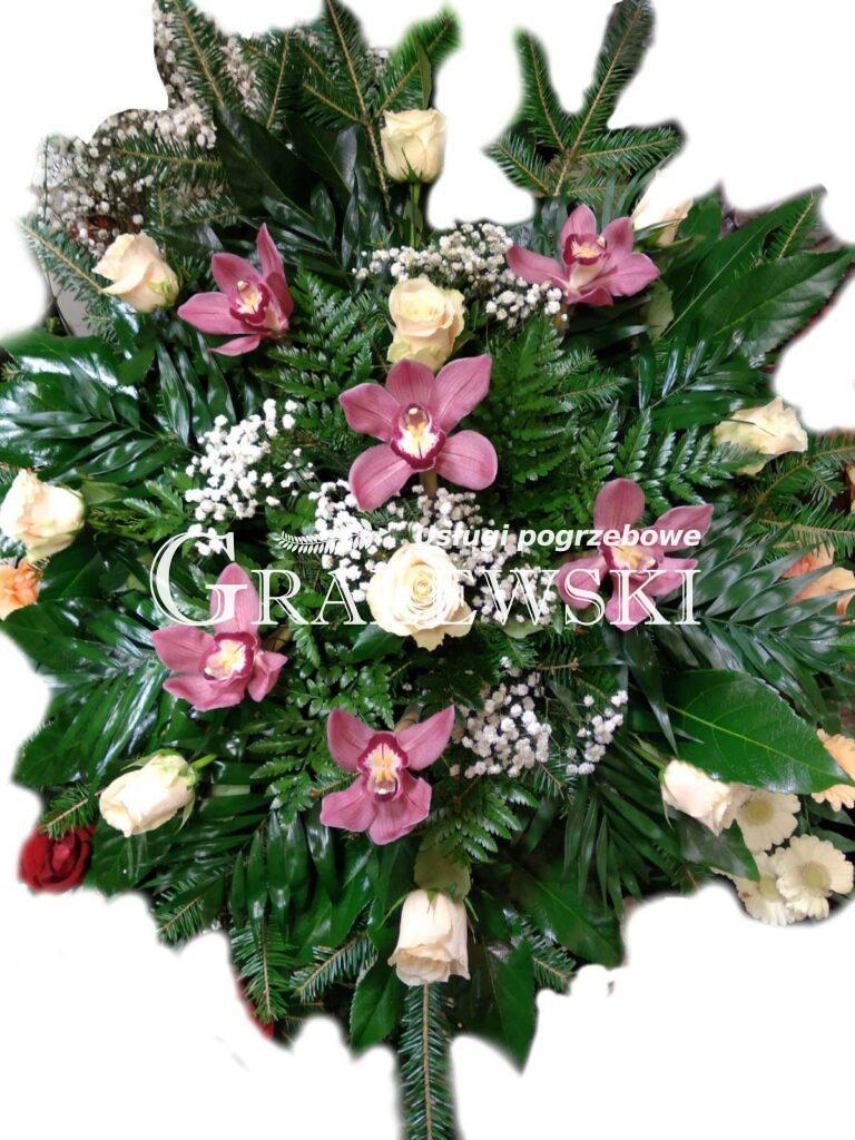 7. Wiązanka róża + storczyk 200,00 PLN