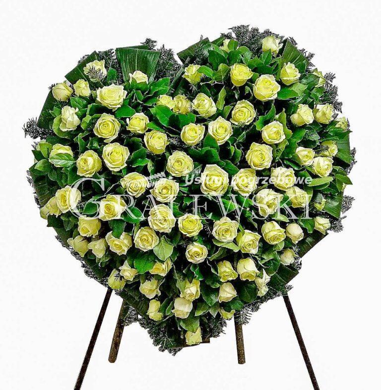 7. Wieniec Serce róża 750,00 PLN