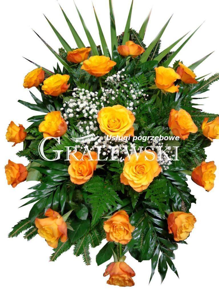 9. Wiązanka róża 250,00 PLN
